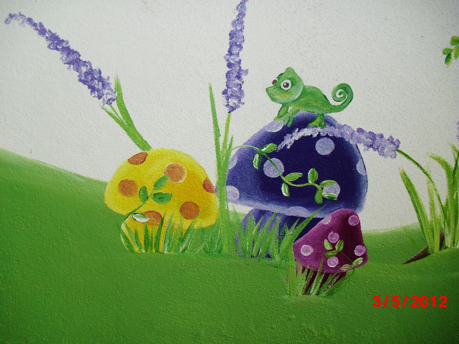Murales infantiles 10 22 12 for Murales infantiles nina