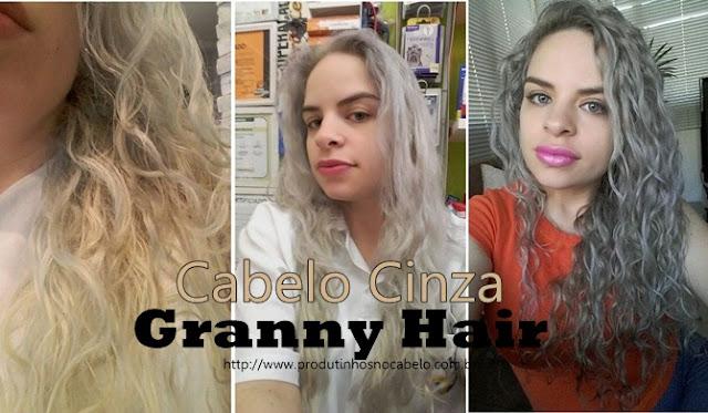 Granny Hair - como manter a cor e cuidar