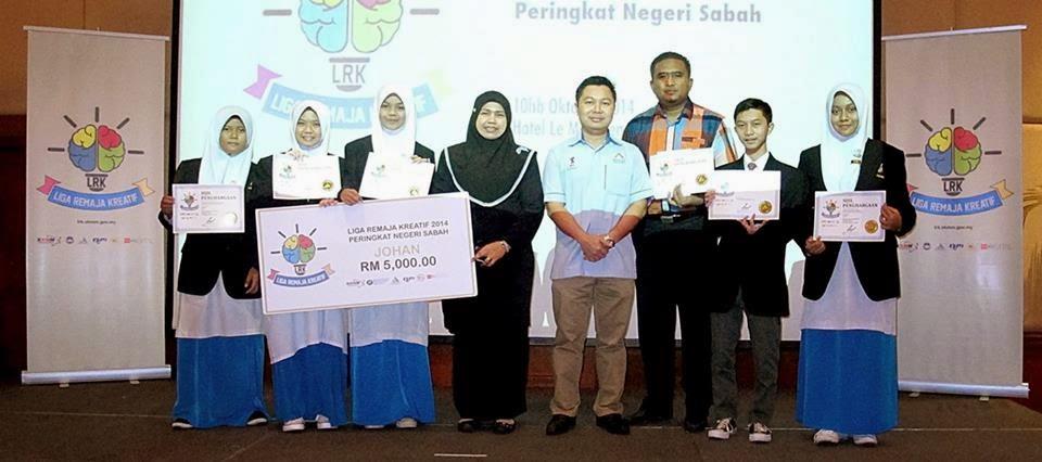 SMK Kuhara, Tawau Johan Liga Remaja Kreatif Zon Sabah 2014