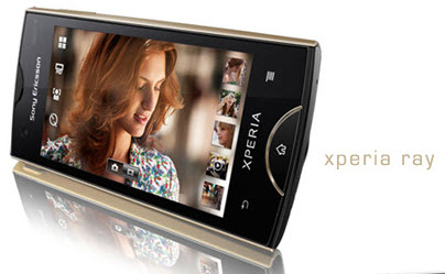 Update Via Xperia Ray