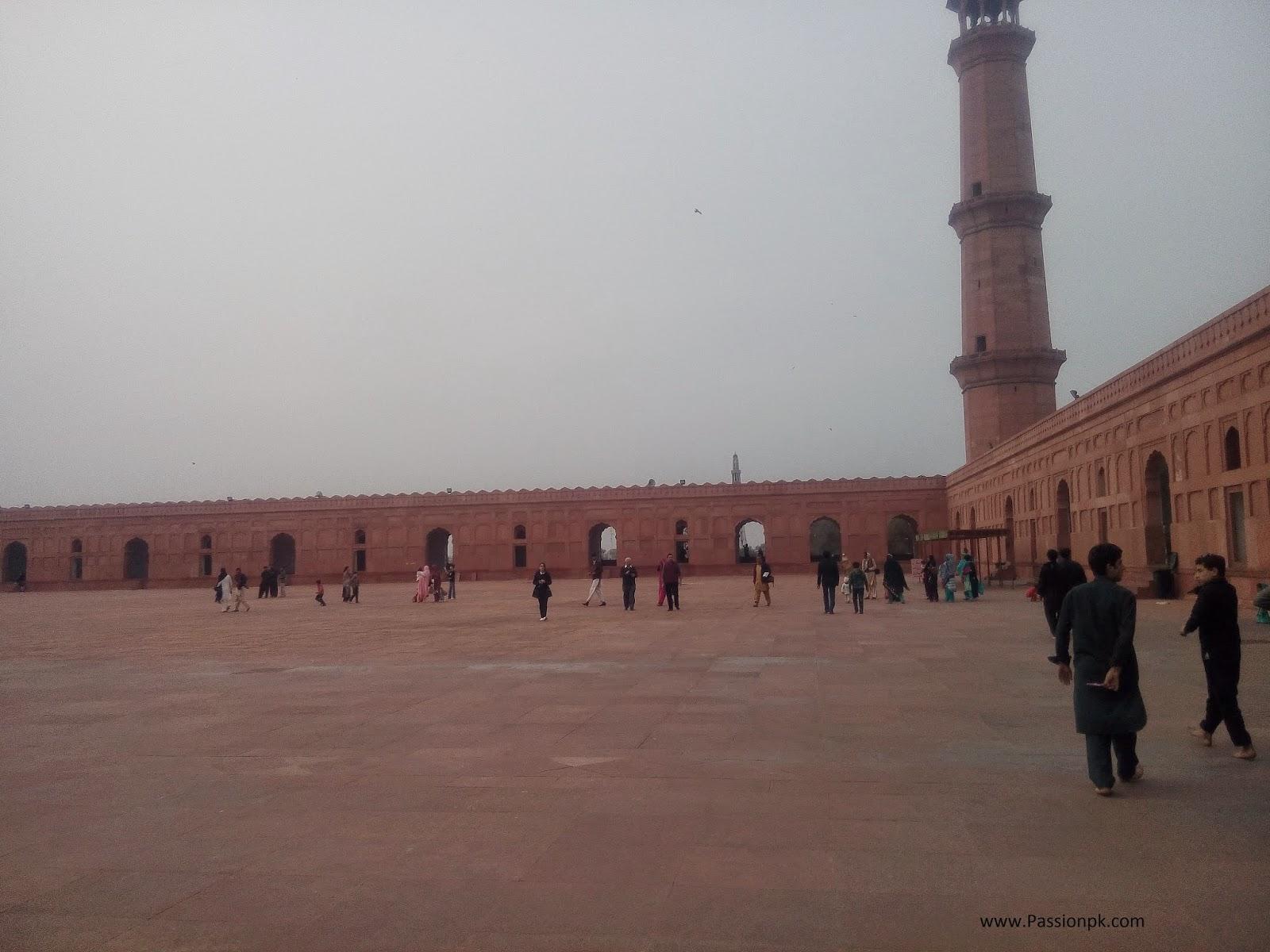 Badshahi Mosque Lahore Museum View