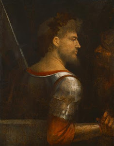 A SOLDIER  by  GIORGIONE