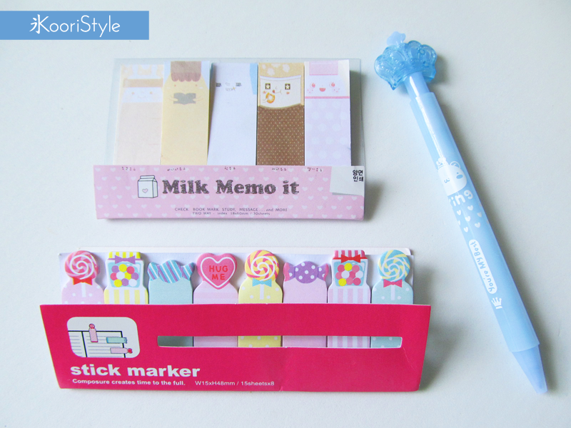 Koori KooriStyle Kawaii Cute Planner Incoming Happy Snail Mail PenPal Opening YouTube Stationery Goods Goodies Agenda Journal Washi Deco Tape Sticky Note Notes Paper Clips Project Life Cards Letter