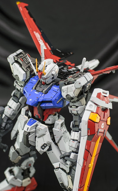 gundam model kit PG Aile Strike Gundam by ghost