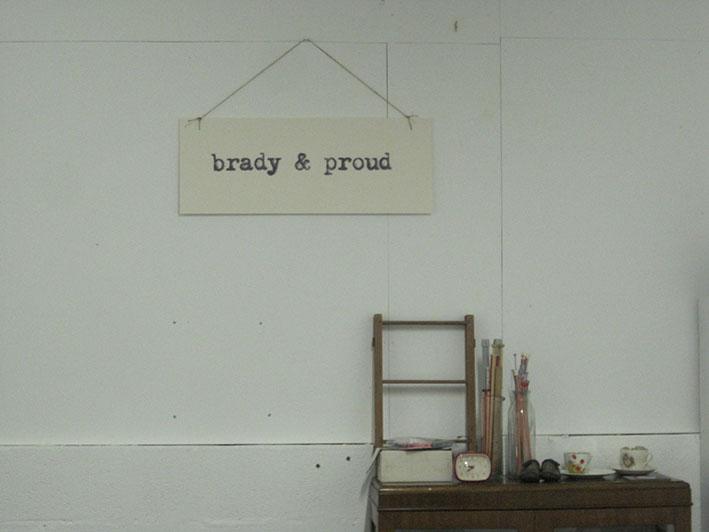 brady and proud