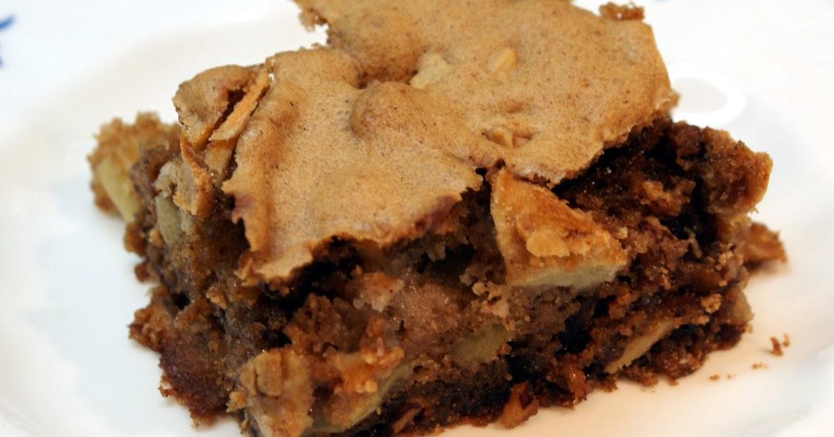 The Baker's Mann: Apple Walnut Cake