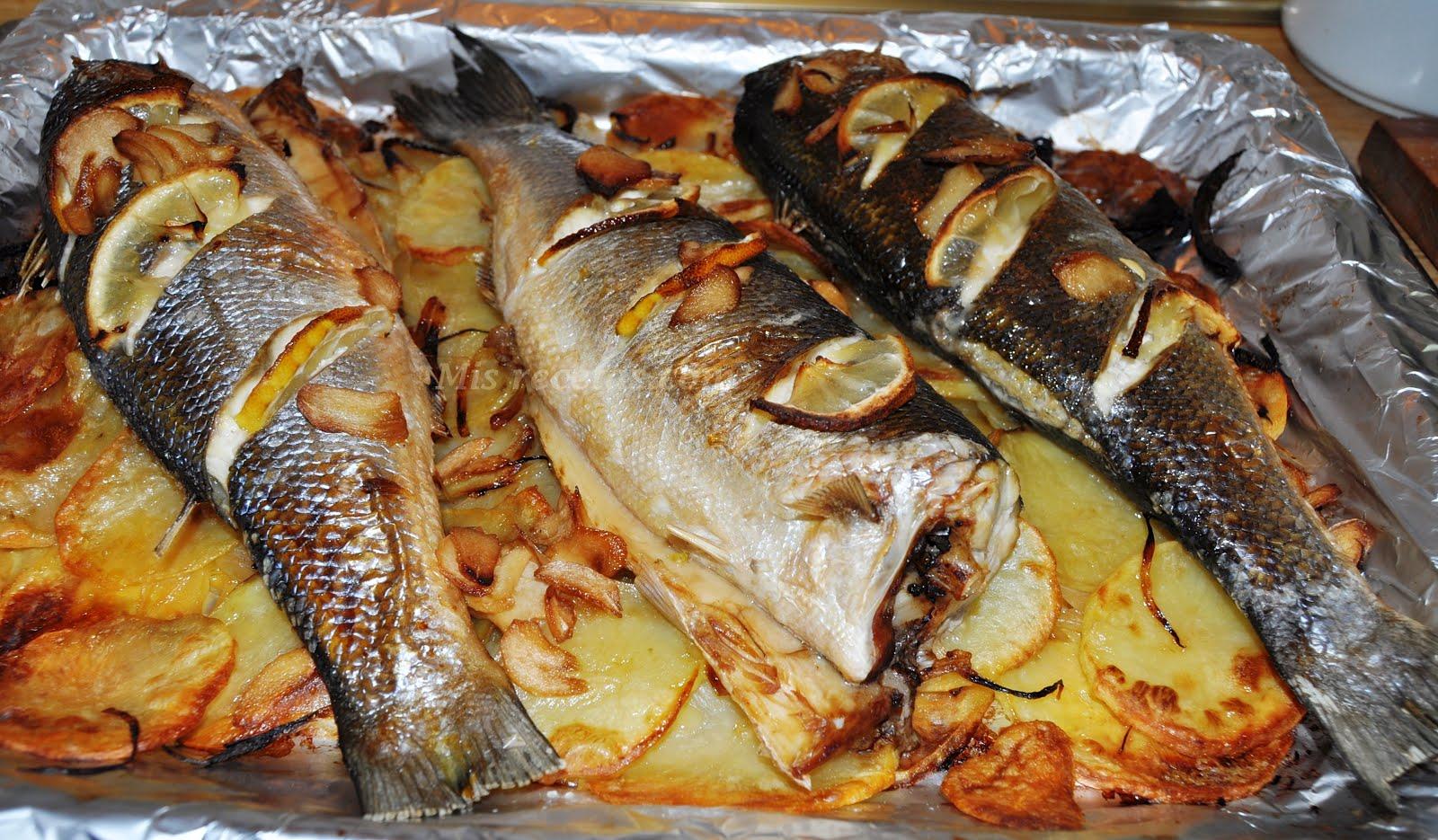 Рецепт приготовления сибаса в духовке 169