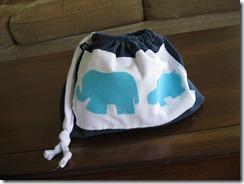 elephant theme storage bag