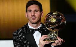 Messi Bola de Ouro da FIFA 2009-2012