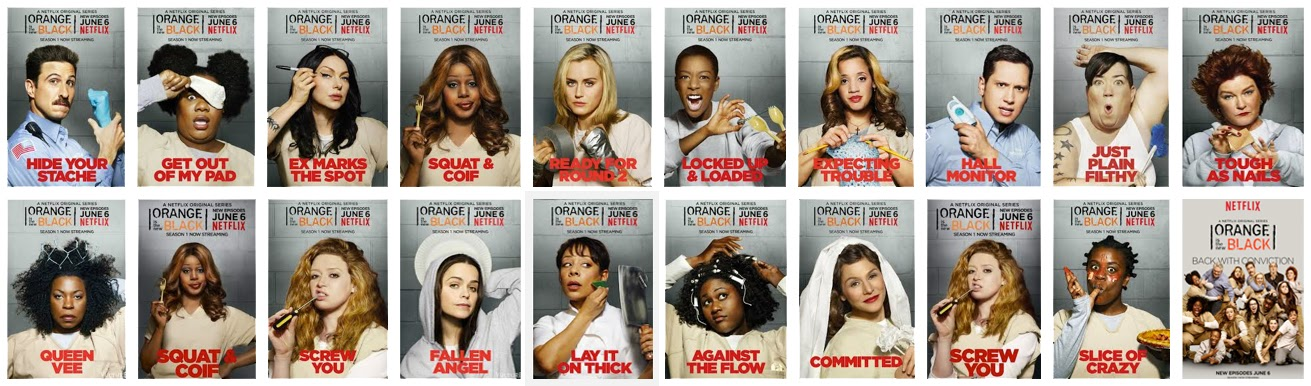 Tema: Orange is the Ne... Orange Is The New Black Character Posters