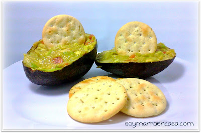 receta de aguacate avocado easy recipe