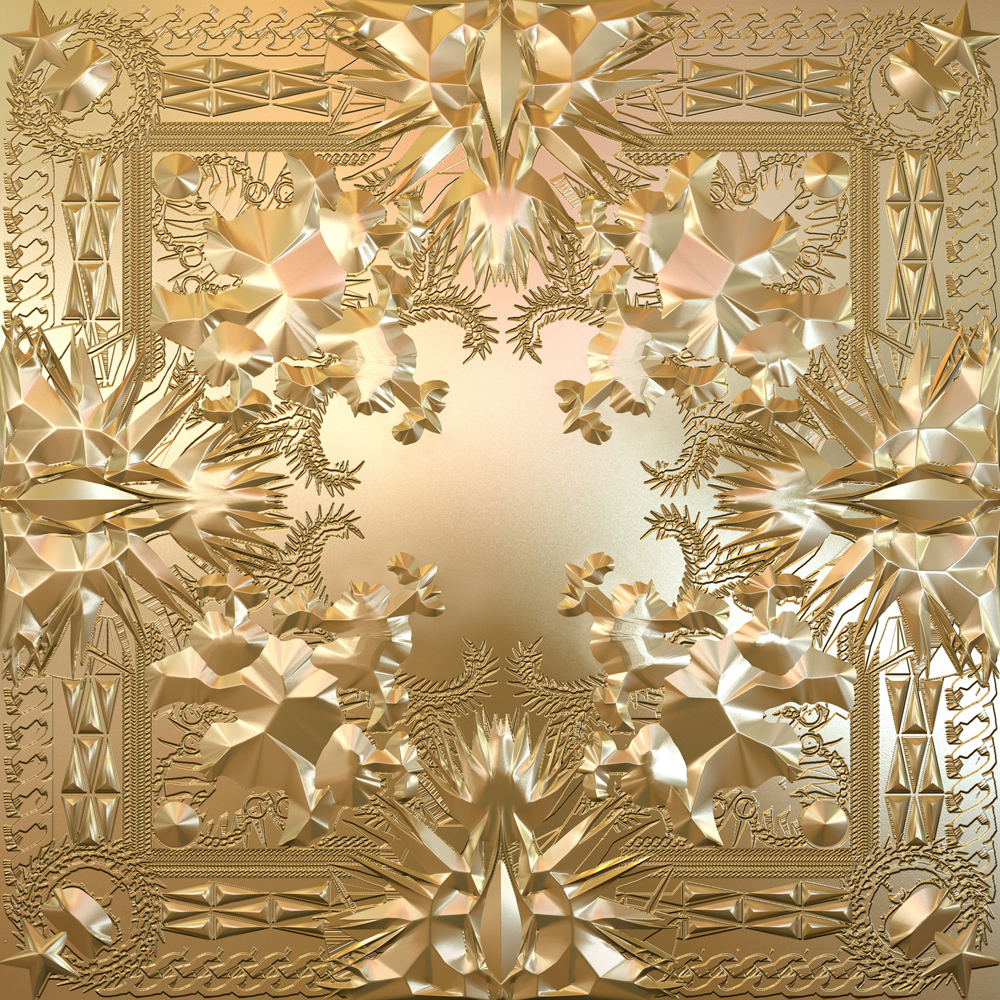 Couverture de l'album &quot;Watch the throne&quot;