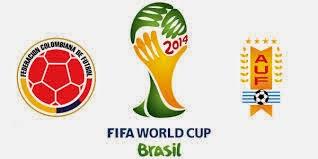 Colombia 2 - 0 Urugay (eliminado).