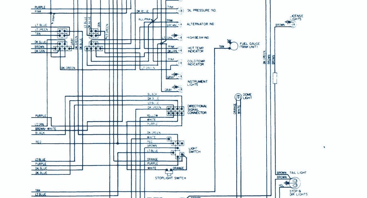 Service Owner Manual   1965 Chevrolet Wiring Diagram