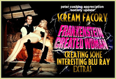 PETER CUSHING / HAMMER FILMS BLU RAY NEWS