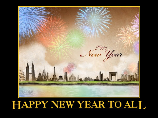 New Year Greetings, New Year Wishes. New Year 2013