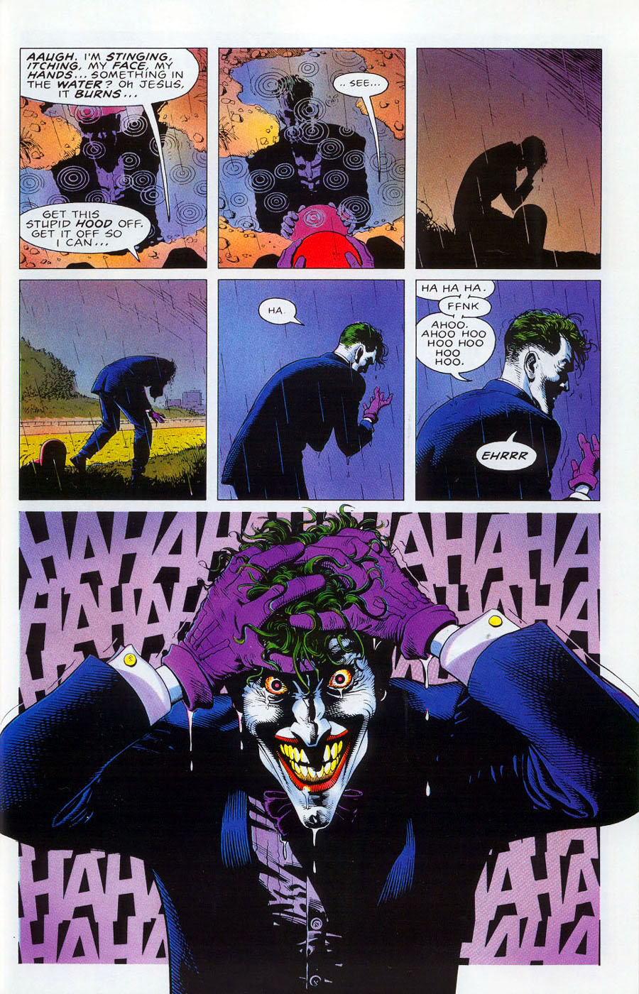 batman the killing joke Spoilers for batman: the killing joke below few batman stories are as iconic as batman: the killing joke few are as controversial as it, too written by alan moore and illustrated by brian bolland and john higgins, the story first appeared in 1988 and has subsequently become one of the most.