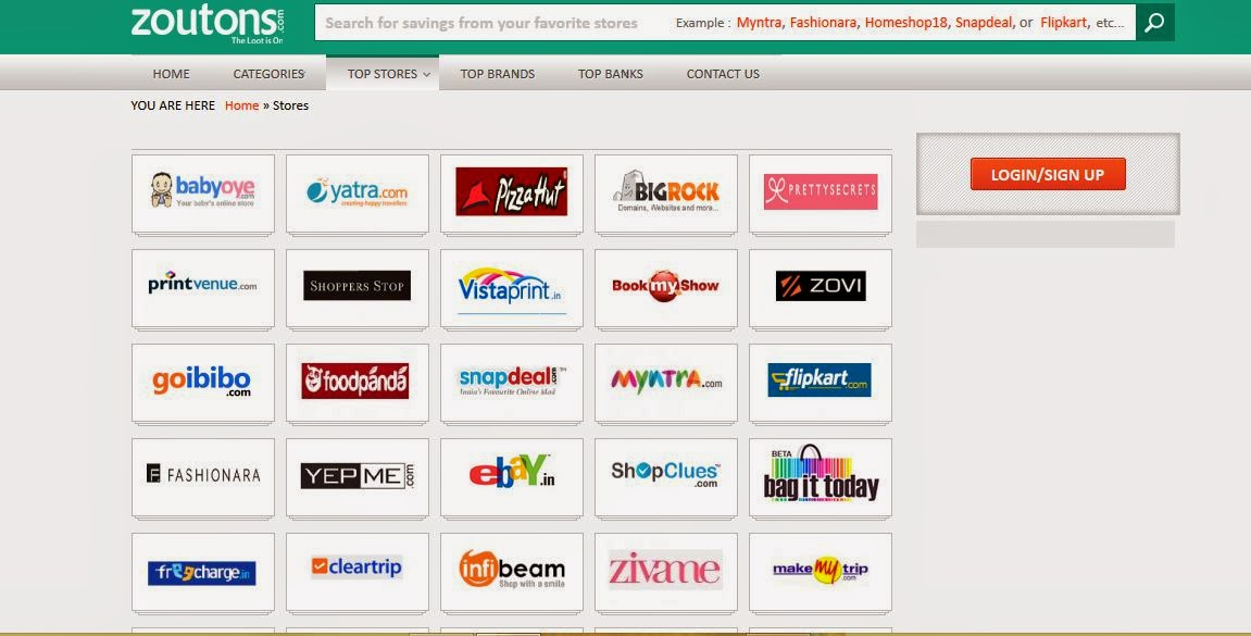 Zoutons.com Online Coupons Website Review