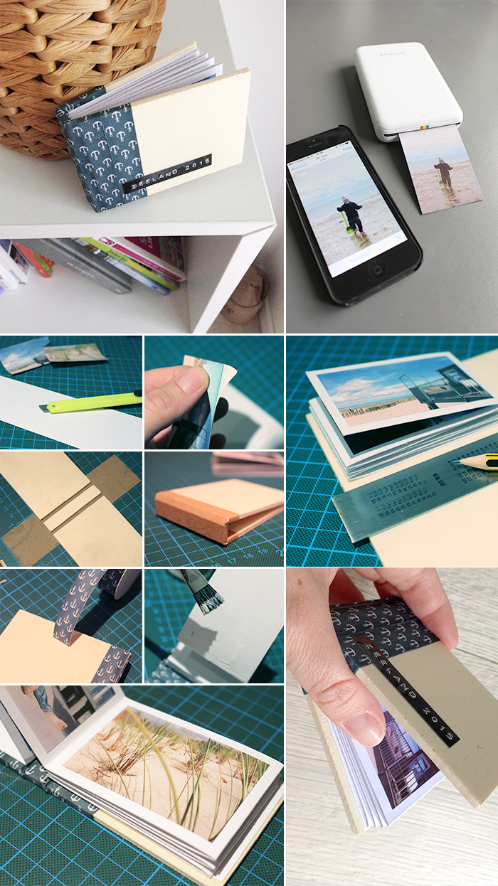 fotobuch mit dem polaroid zip gingered things der diy. Black Bedroom Furniture Sets. Home Design Ideas