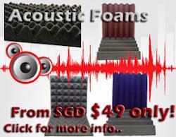 Acoustic Foams Sale!