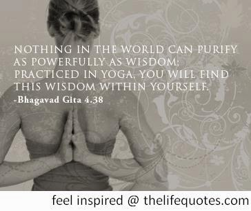 Bhagavad Gita Quotes on Yoga and Wisdom