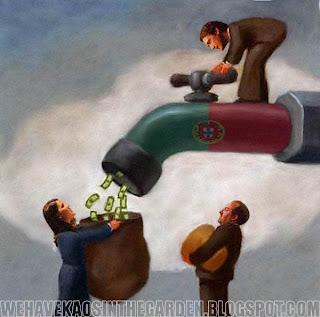 politicos roubaram portugal