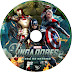 Label DVD Os Vingadores 2 A Era De Ultron