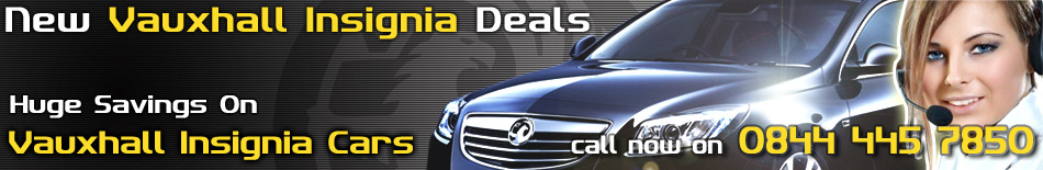 New Vauxhall Insignia Deals