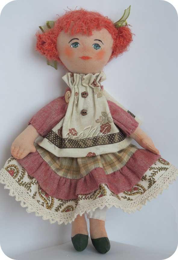 кукла из тряпочек