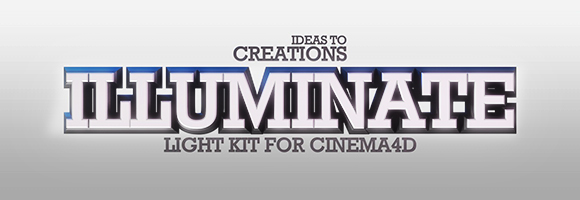 i2c Illuminate Light Kit for Cinema4D