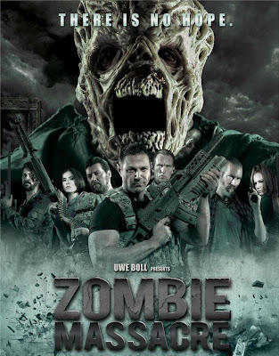 Poster Of Zombie Massacre (2013) Full English Movie Watch Online Free Download At Downloadingzoo.Com
