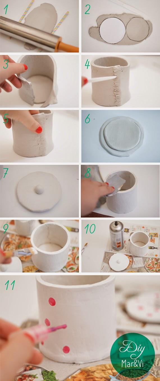 Passo-passo vaso con coperchio