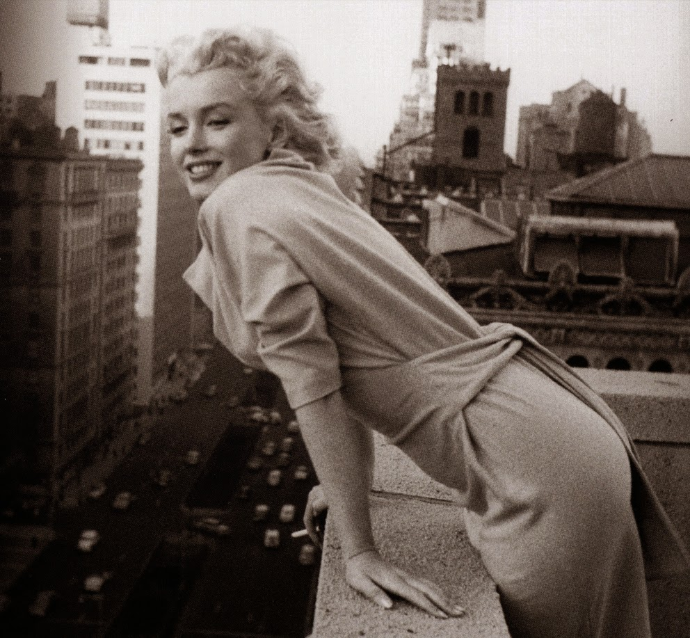 the american past: NYC in focus: A Decisive Moment: Marilyn Monroe ...