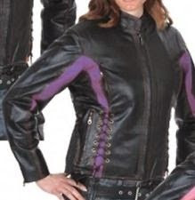 PINK LEATHER JACKETS LADIES MOTORCYCLE BIKER LEATHER JACKET