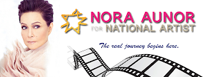NORA AUNOR for NATIONAL ARTIST: The Real Journey Begins here