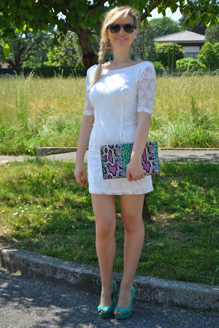 outfit bianco abbinamenti bianco come abbinare il bianco mariafelicia magno fashion blogger colorblock by felym outfit abito in pizzo bianco come abbinare un abito in pizzo outfit bianco mariafelicia magno fashion blogger colorblock by felym come abbinare un abito bianco abbinamenti abito bianco abbinamenti abito in pizzo outfit estivi outfit estate 2015 outfit maggio 2015 summer outfits how to wear lace dress how to wear white dress fashion bloggers italy blonde hair blondie blonde girls green shoes how to wear green shoes romantic lace dress romantic dress