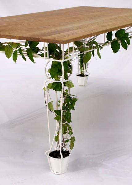 pot plant table great idea you should also see self watering planter