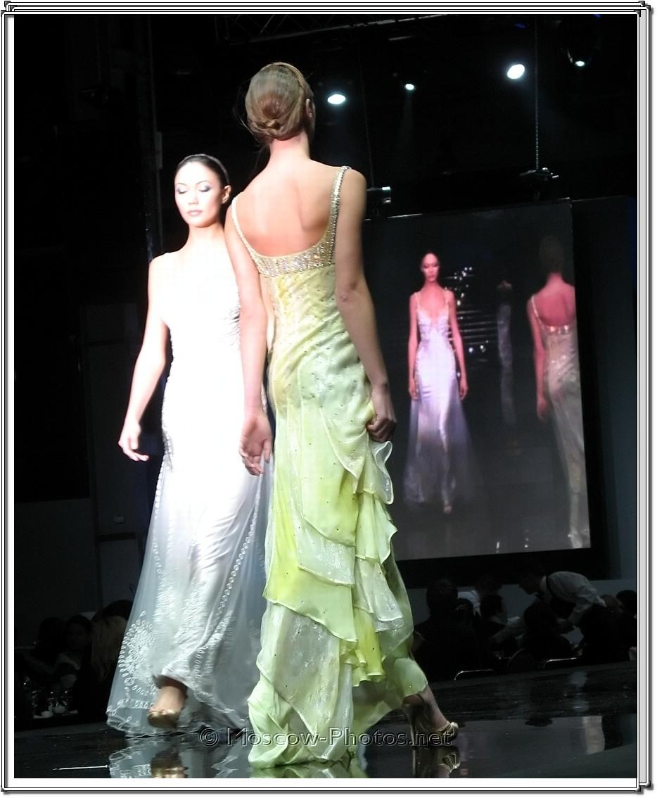 Tony Ward Collection. Moscow Fashion Expo - 2007.