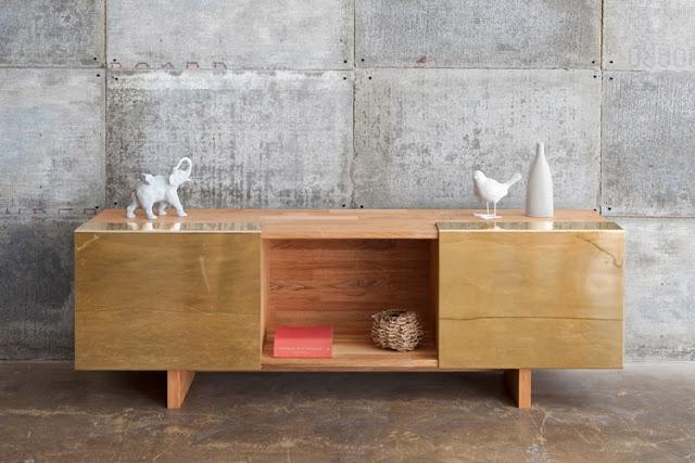 Polierte Metalle - der neue Möbel-Trend 2014!