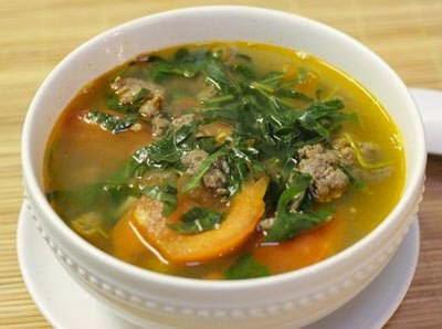 Vietnamese Food Culture - Canh Bò Lá Lốt