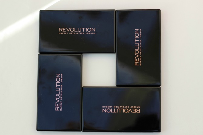 Makeup Revolution Blush, Bronzer & Brighten Palette
