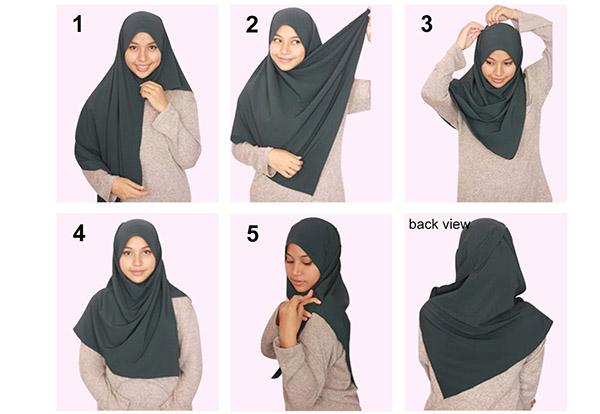 Cara Pakai Selendang Simple Tudung Selendang | newhairstylesformen2014 ...