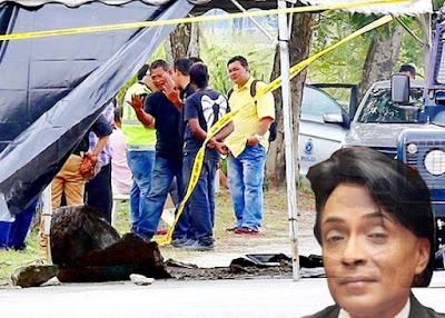 Mayat Morais ditemui dalam Tong Berisi Konkrit