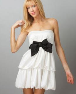 tips cantik memakai pakaian warna putih