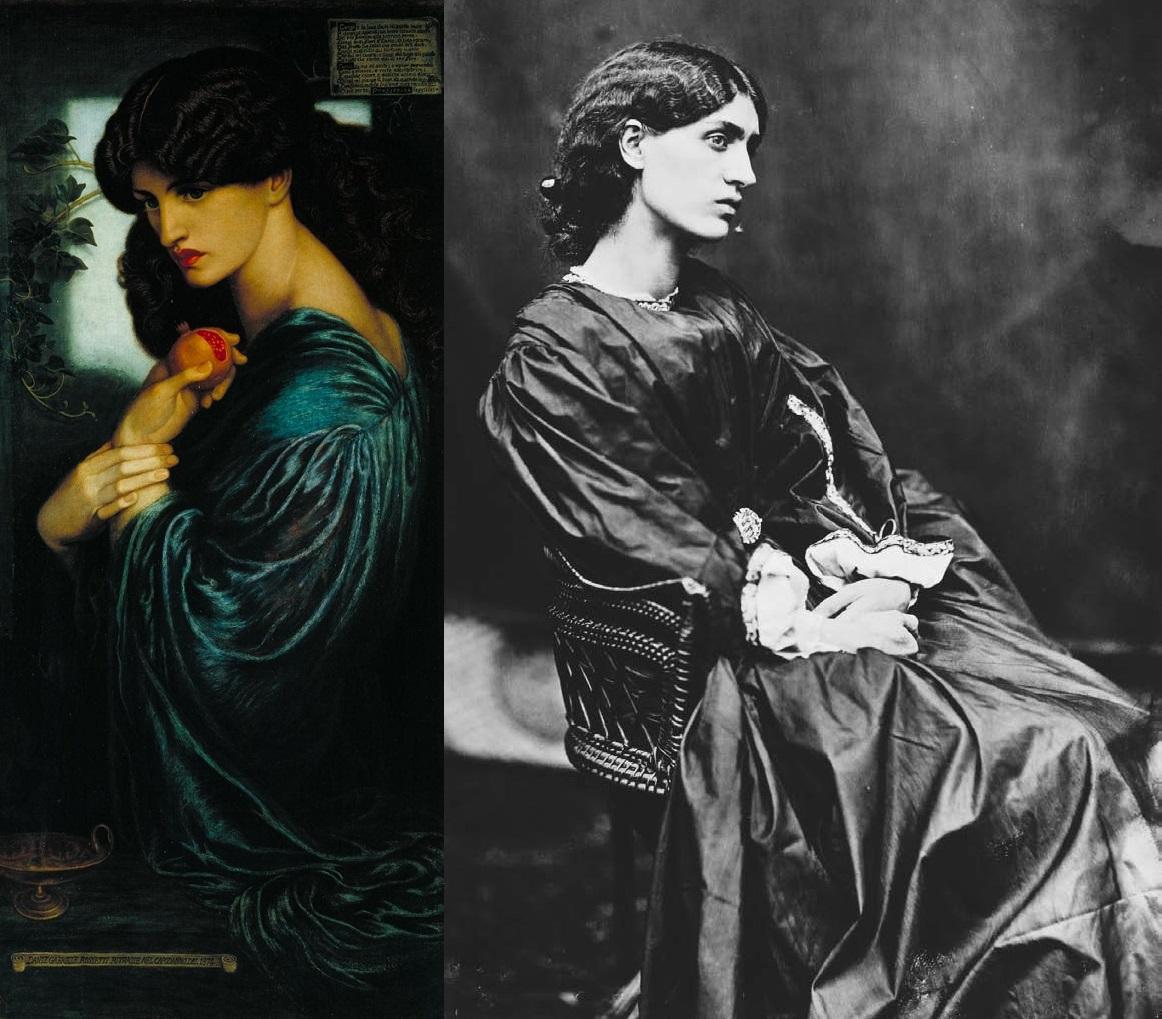 Jane Morris - Proserpina - 1874
