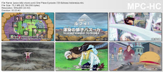 One Piece Episode 728 (Luffy! Serangan Pamungkas, Leo Bazooka!) Bahasa Indonesia