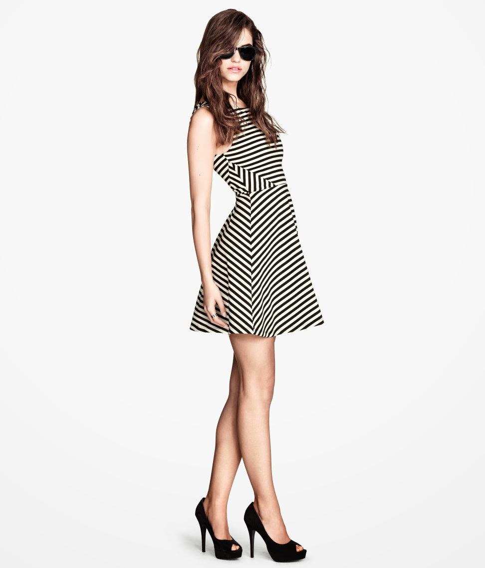 jarse+elbiseler H & M 2014 Sommer Kleidung Models