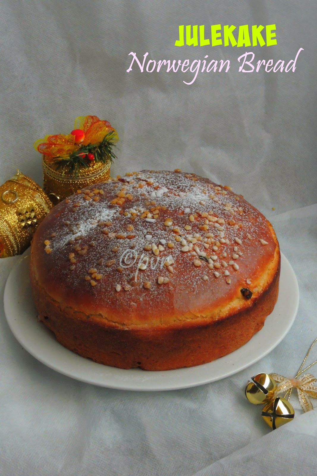 Norwegian Christmas Bread