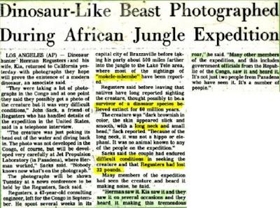Los nativos africanos matan dinosaurios