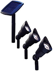 Mini 8X Solar Spotlights Set of 3